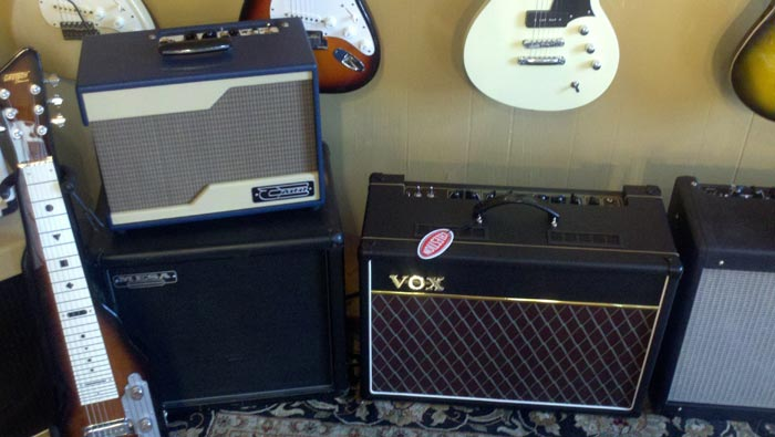 Carr Raleigh and Vox AC15